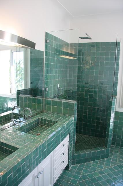 Salle de bain en Zellige - Art et Sud Déco