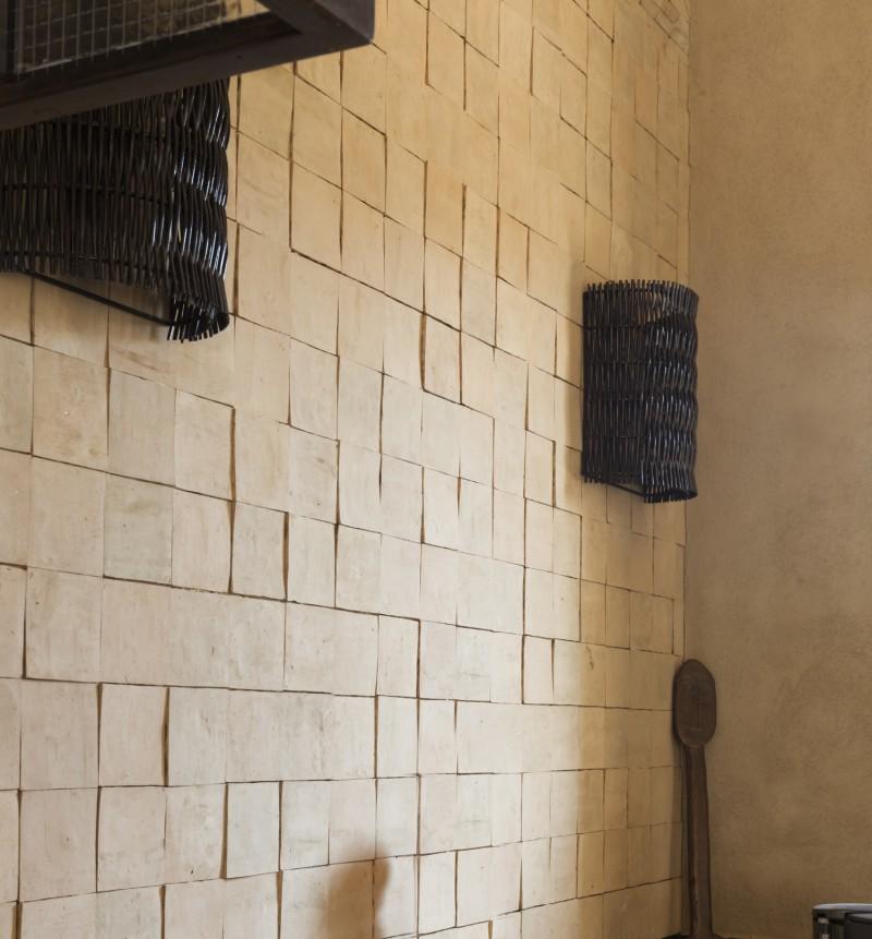 Mur en zellige art et sud d co for Carrelage zellige