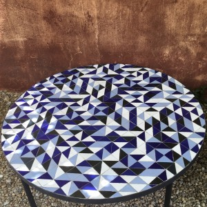 Table Zellige Motif Triangle B1B2B3P1