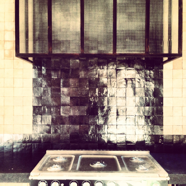 Hotte de cuisine Zellige - Art et Sud Déco