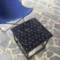 Table Zellige Motif Cube Noir